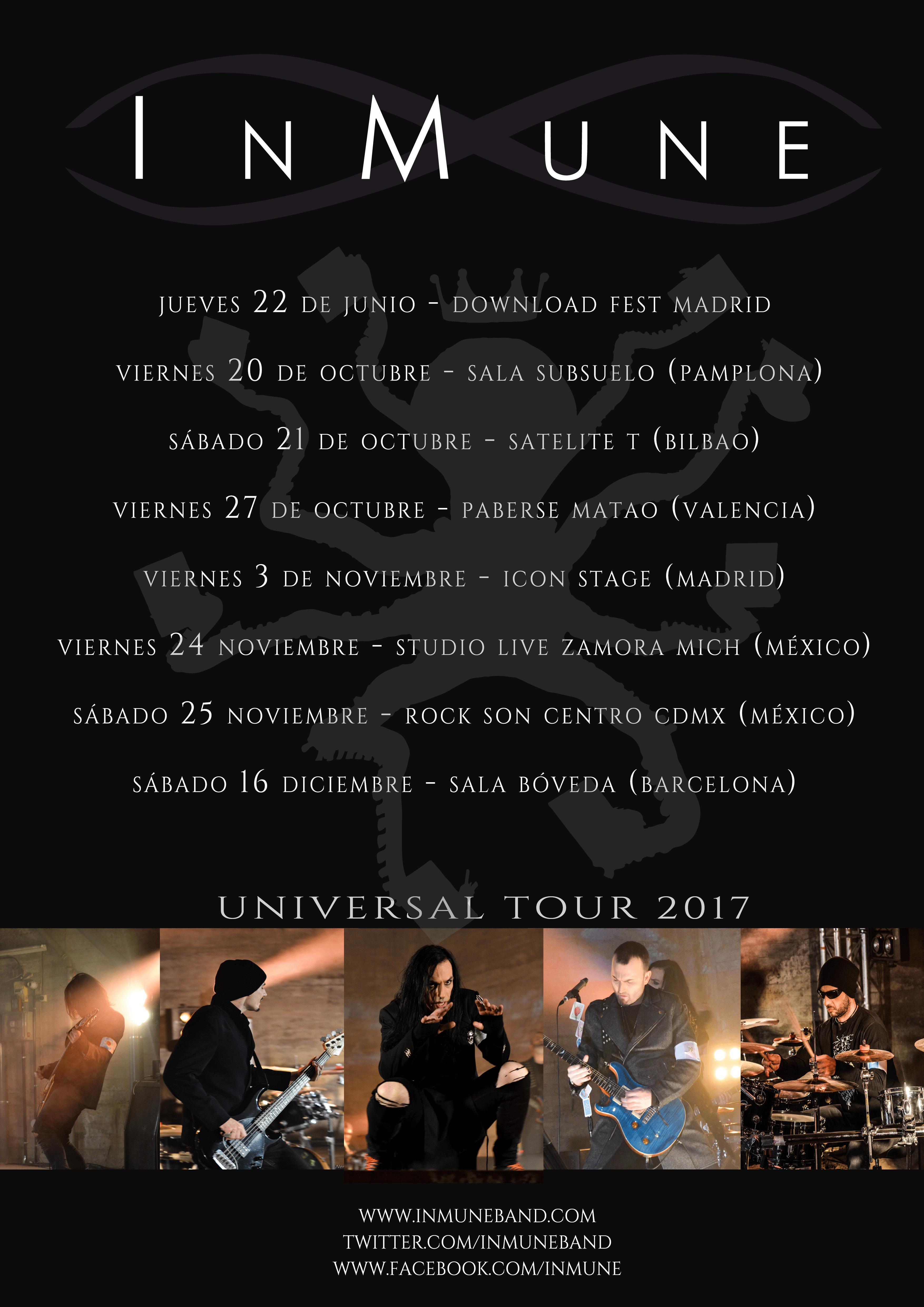 El Universal Tour continúa en otoño
